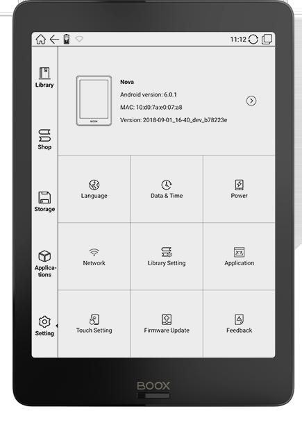 ONYX BOOX Nova eReader :: ONYX BOOX electronic books