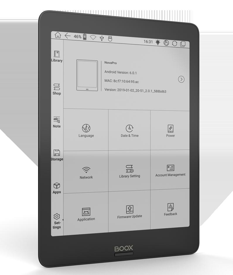 ONYX BOOX Nova Pro
